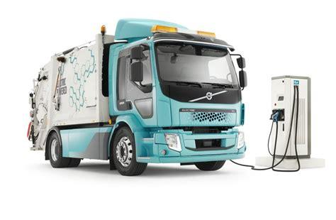 volvo blasts  electric trucks   garbage