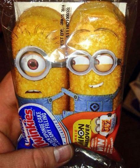 Minion Twinkies   Funny Stuff   Funny, Minion twinkies