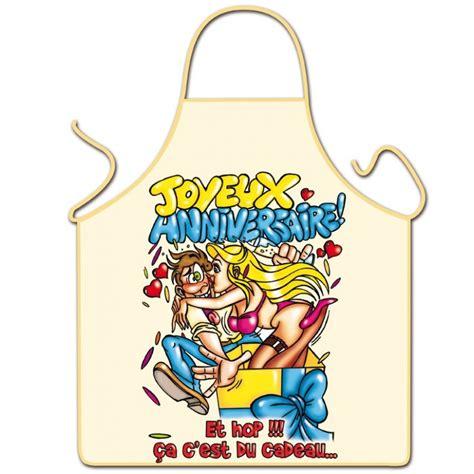 tablier de cuisine homme rigolo tablier humoristique quot joyeux anniversaire quot pour homme