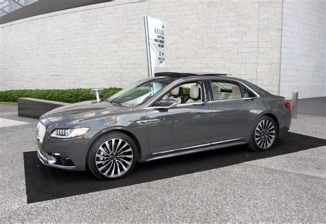 2017 Lincoln Continental Length by 2017 Lincoln Continental Black Label Test Drive Carprousa