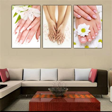 Check out our massage wall decor selection for the very best in unique or custom, handmade pieces from our there are 1717 massage wall decor for sale on etsy, and they cost $17.98 on average. 3 Panels Unframed Canvas Photo Prints Spa Nail Foot Massage Salon Wall Art Picture Canvas ...