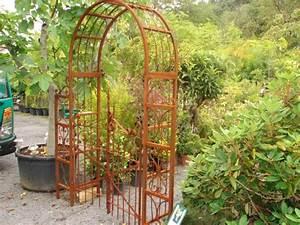 Arche De Jardin En Fer Forgé : porte de jardin en fer ~ Premium-room.com Idées de Décoration
