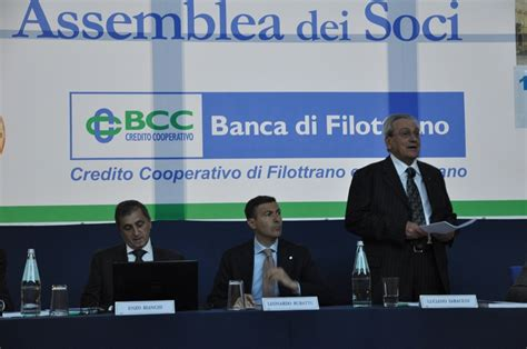 Banca Filottrano by Oltre Un Milione Di Utili Per Bcc Filottrano Cronache