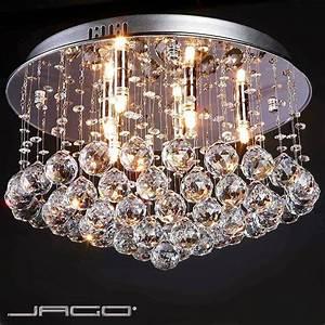 Lustre Pour Chambre : plafonnier lustre design moderne cristal lustre bois et blanc marchesurmesyeux ~ Teatrodelosmanantiales.com Idées de Décoration