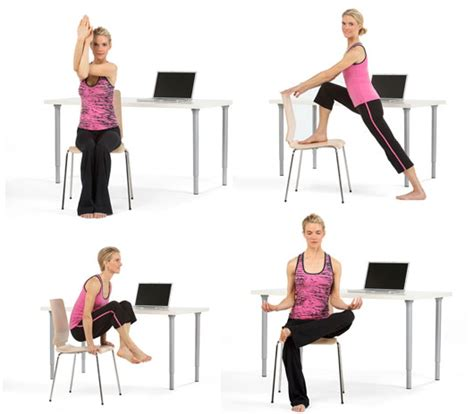 Office Stretch Yoga Poses, At Your Desk  Sayeh Pezeshki