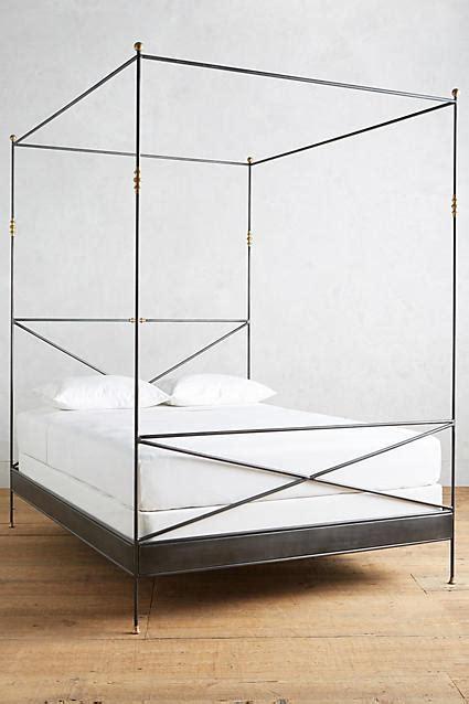 poster gold bed frame
