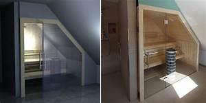 Sauna Unter Dachschräge : die besten 25 bad mit dachschr ge ideen auf pinterest badideen dachschr ge badideen f r ~ Sanjose-hotels-ca.com Haus und Dekorationen