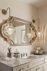 1001 idees pour un miroir salle de bain lumineux les With miroir salle de bain style ancien
