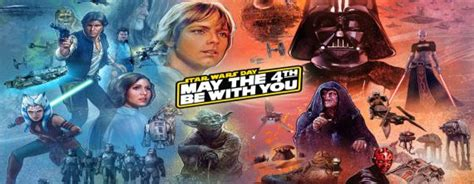 Happy Star Wars Day and May The 4th Be With You   ARG