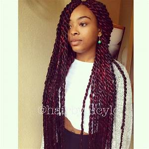 Big Twist Braids With Color | www.imgkid.com - The Image ...