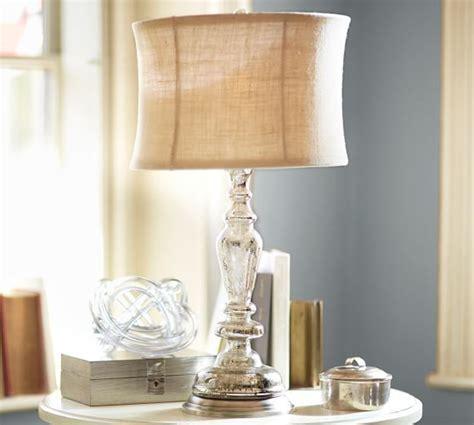 Leera Antique Mercury Glass Table Lamp Base   Pottery Barn
