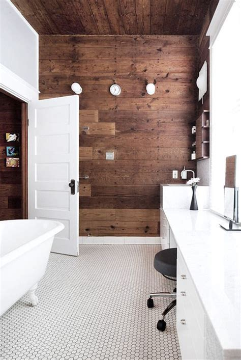 wood bathroom ideas 10 wood bathroom floor ideas home design and interior