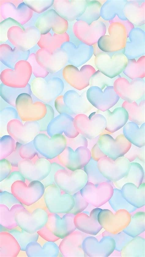 wallpaper heart wallpaper heart background pastel