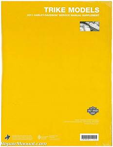 2011 Harley Davidson Trike Service Manual Supplement