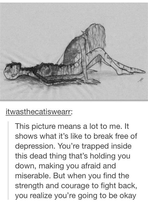 good depiction of depression | Self Help | Pinterest | Mental health, Mental illness and Draw