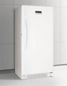 Frigidaire Glfh17f8hw 16 6 Cu  Ft  Upright Freezer With 3