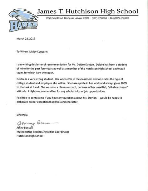 senior letter exles letter of recommendation for iata 23858