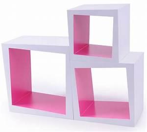 Designer Regale Wohnzimmer : holz b cher wand designer kasten regal modern rosa ~ Sanjose-hotels-ca.com Haus und Dekorationen