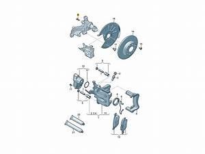 2000 Jetta Rear Caliper Diagram