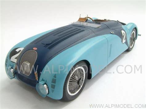 spark-model Bugatti 57 G #2 Winner Le Mans 1937 Wimille ...