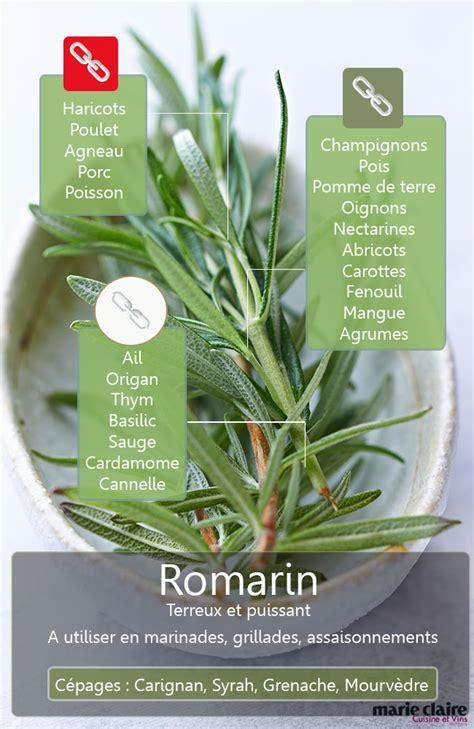 romarin cuisine comment utiliser le romarin en cuisine