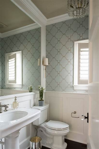 Bathroom Powder Studio Half Bathrooms Interiors Colors