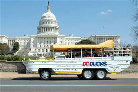 Duck Boat Tours Dc by Dc Ducks Tour Washington Dc Address Nearby Hotels On