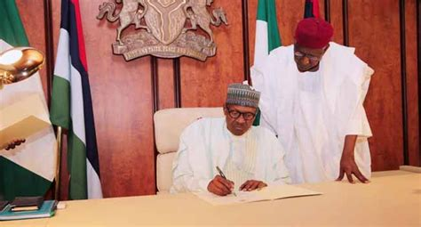 buhari resumes work nigeria news by press