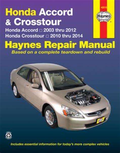 car engine repair manual 2012 honda crosstour transmission control honda accord crosstour haynes repair manual 2003 2014 hay42015