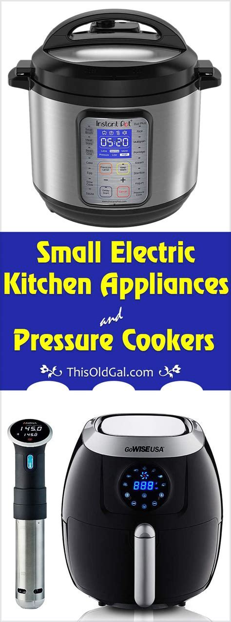 Small Electric Kitchen Appliances & Pressure Cookers