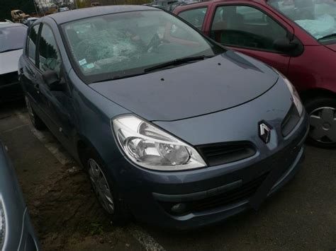 2005 renault clio iii 1 1 related infomation specifications weili automotive network