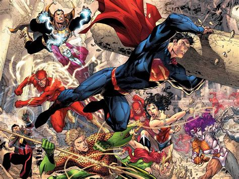 My Free Wallpapers  Comics Wallpaper  Justice League