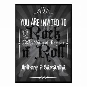 rock and roll wedding invitations 231 rock and roll With rock n roll wedding invitations uk