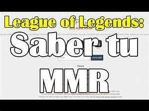 Mmr Lol Berechnen : como saber mi mmr de league of legends youtube ~ Themetempest.com Abrechnung