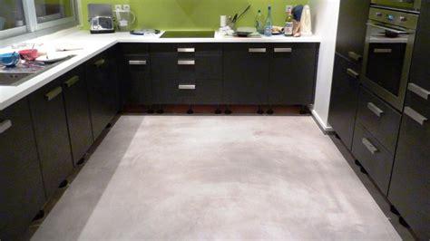 revetement sol cuisine beton cire sol cuisine meilleures images d inspiration