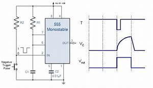 555 Timer Circuit Diagrams