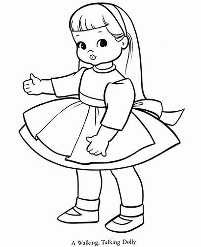 Coloring Doll Cartoon Popular