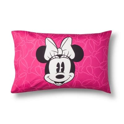 minnie mouse pillow mickey mouse friends 174 minnie mouse gray pink pillow