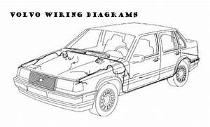 Volvo 960 S90 V90 Wiring Diagrams 1997 1998