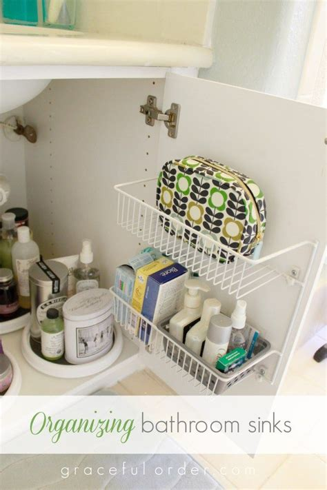 Bathroom With No Storage Ideas by 15 Ways To Organize The Bathroom Sink Diy Home