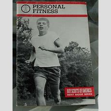 Collectible Boy Scout Booklet, Personal Fitness, Merit Badge Series 1985 Vgc Ebay