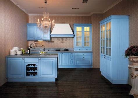 peinture cuisine bleu cuisine bleu 50 suggestions de décoration