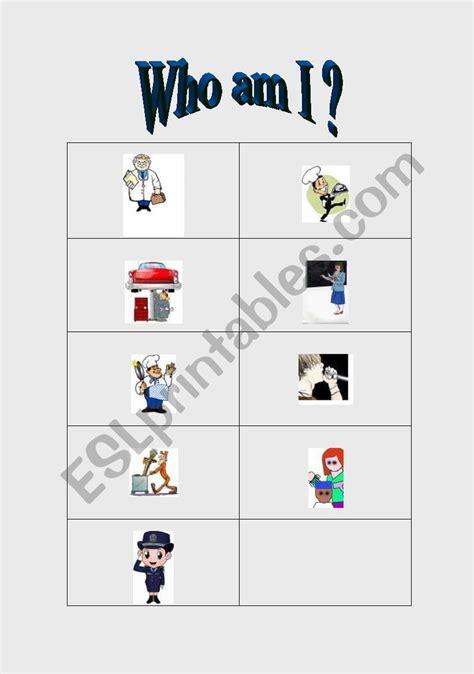 jobs     images esl worksheet  sarahgriffin