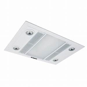 Martec Linear Exhaust Fan White