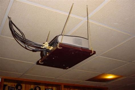 Ceiling Projector Mount Diy by Diy Screen And Ceiling Mount 40 Avs Forum Home