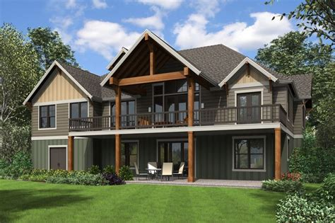 Craftsman Style House Plan 4 Beds 3 5 Baths 5432 Sq/Ft