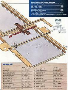 Dado Router Jig Plans • WoodArchivist