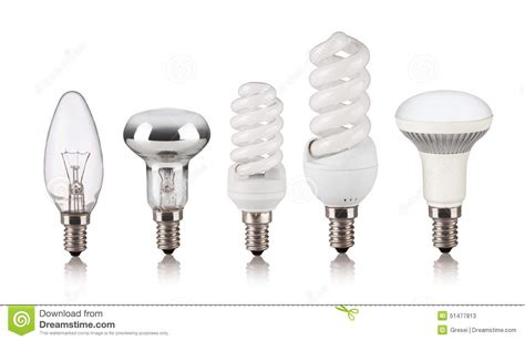 different types of light bulbs set of different light bulbs stock photo image 51477813
