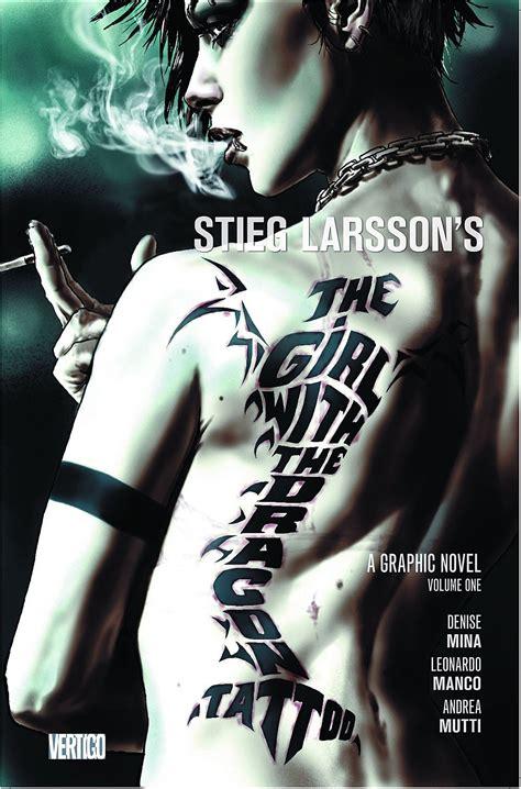 vertigos  girl   dragon tattoo comic   supported  tv ad campaign video