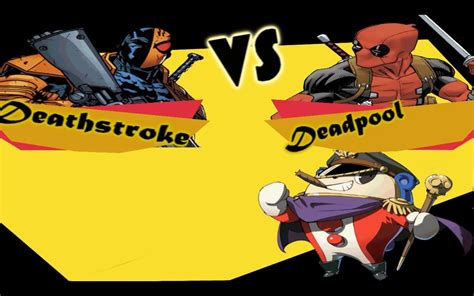Deadpool Vs Deathstroke (loquendo Bien Explicado)
